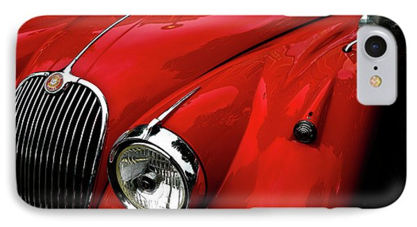IPhone Case featuring the photograph 1960s Jaguar by M G Whittingham