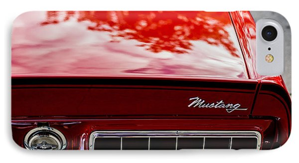 IPhone Case featuring the photograph 1967 Mustang by M G Whittingham