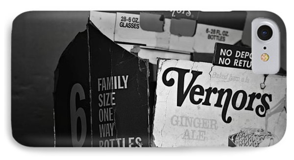 1960's Vernors Box. No Deposit, No Rerurn  IPhone Case by Sandra Church