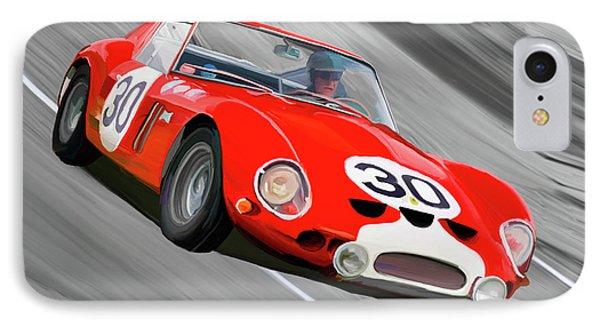 1962 Ferrari 250 Gto IPhone Case by Wally Hampton