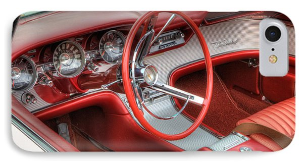 1962 Thunderbird Dash IPhone Case by Jerry Fornarotto