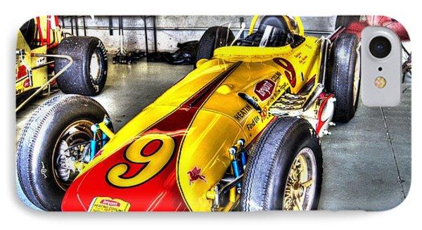 1963 Eddie Sachs Indy Car IPhone Case by Josh Williams