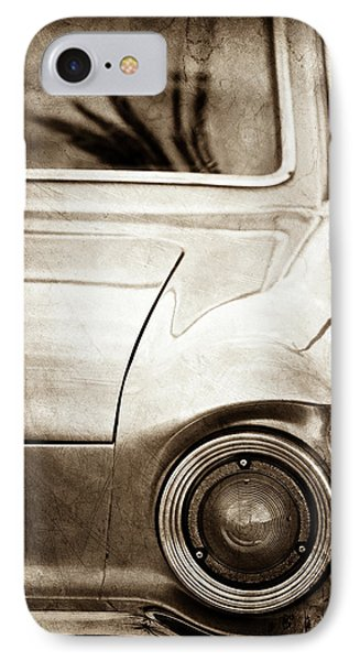 1963 Ford Falcon Taillight -0566s IPhone Case by Jill Reger