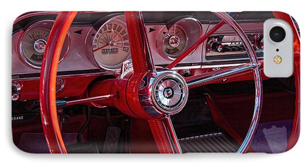 1964 Ford Fairlane Dashboard IPhone Case by Nick Gray