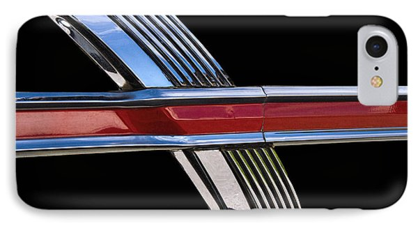 1964 Ford Fairlane Emblem IPhone Case by Nick Gray