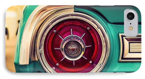 1964 Ford Galaxie 500 Xl Tail Light IPhone Case by Jon Woodhams