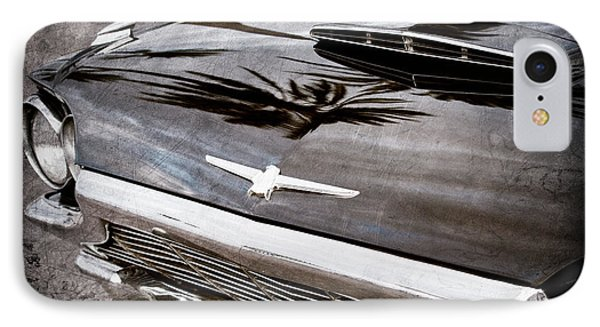 1964 Ford Thunderbird Grille Emblem -0519ac IPhone Case by Jill Reger
