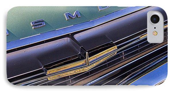 1964 Oldsmobile Jetstar Hood Ornament IPhone Case by Nick Gray