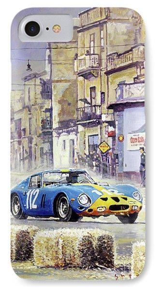 1964 Targa Florio Ferrari 250 Gto Phone Case by Yuriy Shevchuk