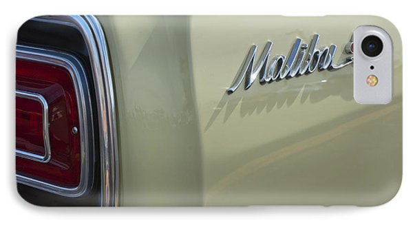 1965 Chevrolet Chevelle Malibu Ss Emblem And Taillight IPhone Case by Jill Reger