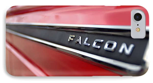 1965 Ford Falcon Name Plate Phone Case by Brian Harig