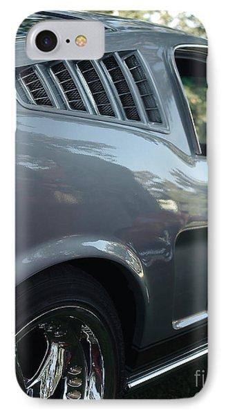 1965 Ford Mustang Phone Case by Peter Piatt