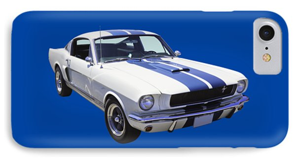 1965 Gt350 Mustang Muscle Car IPhone Case by Keith Webber Jr