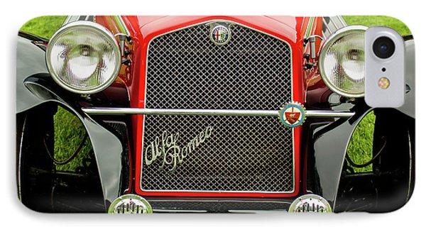 1966 Alfa Romeo Quattro Route 4r Grille Phone Case by Jill Reger