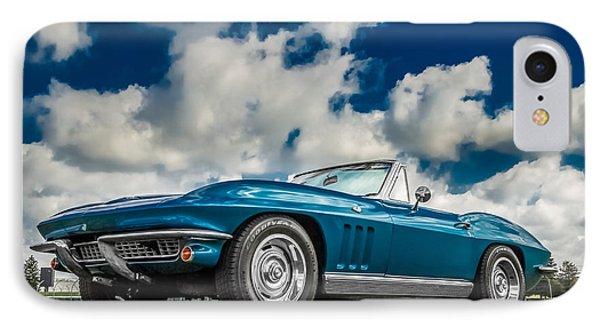 1966 Corvette Stingray  IPhone Case by Ron Pate