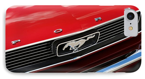 1966 Ford Mustang IPhone Case by Gordon Dean II