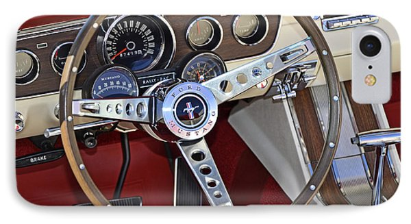 1966 Mustang IPhone Case by Paul Mashburn