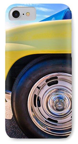 1967 Chevrolet Corvette Sport Coupe Rear Wheel Phone Case by Jill Reger