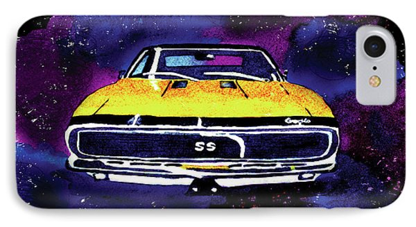 1967 Chevy Camaro Ss IPhone Case by Paula Ayers