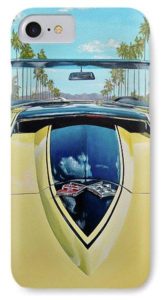 1967 Corvette 427 Convertible Phone Case by Branden Hochstetler