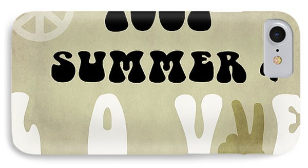 1967 Summer Of Love Newspaper IPhone Case