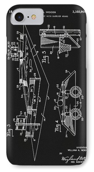 1968 Basketball Court Patent IPhone Case