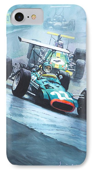 1968 German Gp Nurburgring  Phone Case by Yuriy Shevchuk