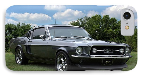 IPhone Case featuring the photograph 1967 Mustang Fast Back by Tim McCullough