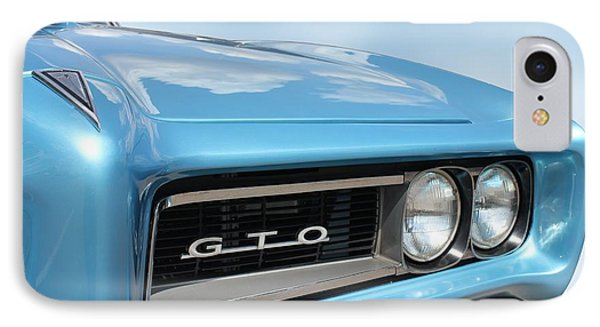1968 Pontiac Gto IPhone Case by Betty Northcutt