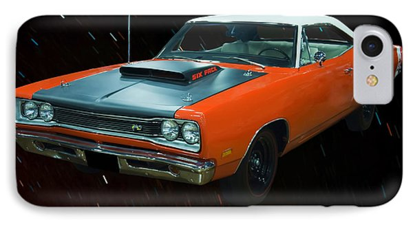 1969 And A Half Dodge Cornet A12 Superbee IPhone Case by Chris Flees