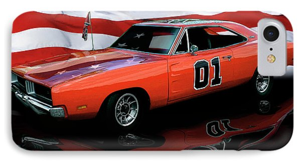IPhone Case featuring the photograph 1969 General Lee by Peter Piatt