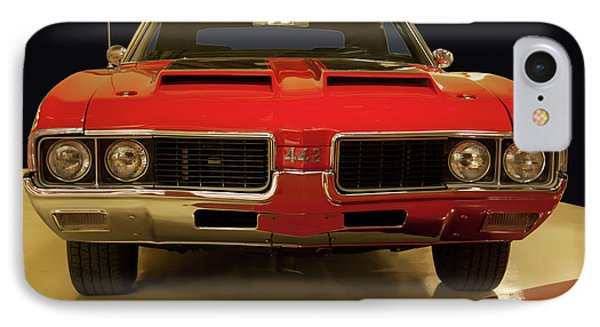 IPhone Case featuring the photograph 1969 Oldsmobile 442 W-30 by Chris Flees