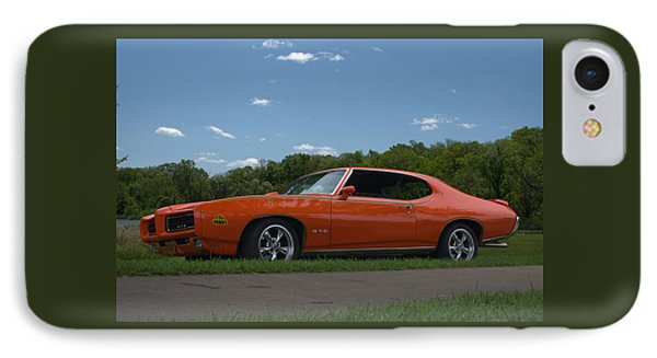IPhone Case featuring the photograph 1969 Pontiac Gto Judge by Tim McCullough
