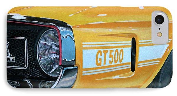 1969 Shelby Gt500 Phone Case by Branden Hochstetler