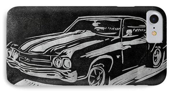 1970 Chevelle IPhone Case by Alisha Floy
