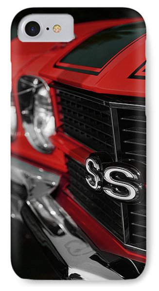1970 Chevelle Ss396 Ss 396 Red Phone Case by Gordon Dean II