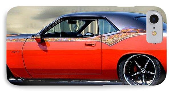 1970 Dodge Challenger Srt IPhone Case