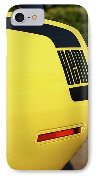 1970 Plymouth Hemi Cuda Drivers Rear Hockey Stripe Phone Case by Gordon Dean II