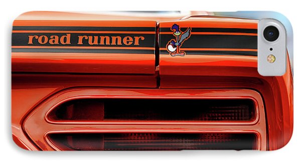 1970 Plymouth Road Runner - Vitamin C Orange IPhone Case