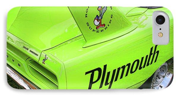 1970 Plymouth Superbird IPhone 7 Case by Gordon Dean II