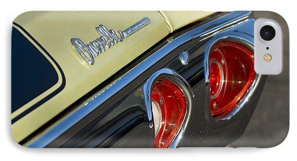 1971 Chevrolet Chevelle Malibu Ss Tail Light IPhone Case by Jill Reger