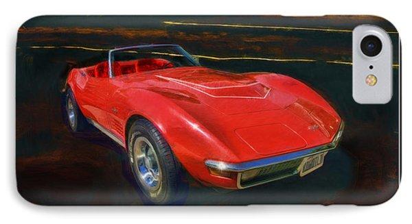 1971 Chevy Corvette Lt1 Phone Case by Blake Richards