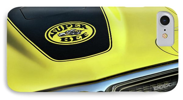 1971 Dodge Charger Super Bee IPhone Case by Gordon Dean II
