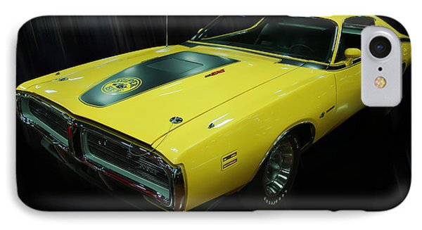 1971 Dodge Charger Superbee IPhone Case by Chris Flees