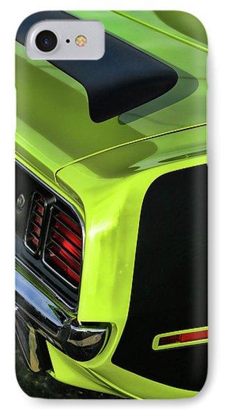 1971 Plymouth Hemicuda Hemi Cuda Barracuda Phone Case by Gordon Dean II