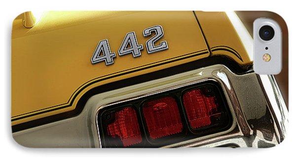 1972 Oldsmobile Cutlass 4-4-2 IPhone Case
