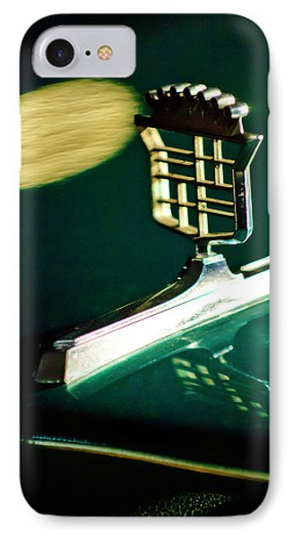 1976 Cadillac Fleetwood Hood Ornament Phone Case by Jill Reger