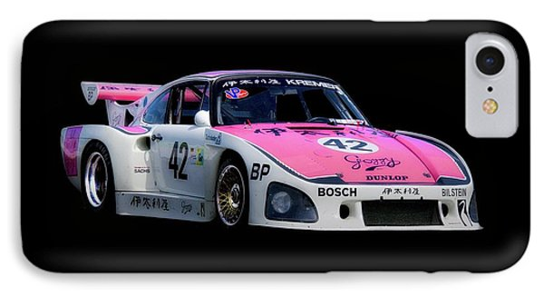 1976 Porsche 935 A3 Racecar IPhone Case by Dave Koontz