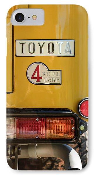 1978 Toyota Land Cruiser Fj40 Taillight Emblem -1191c IPhone Case