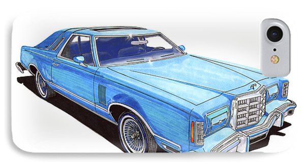 1979 Ford Thunderbird IPhone Case by Jack Pumphrey